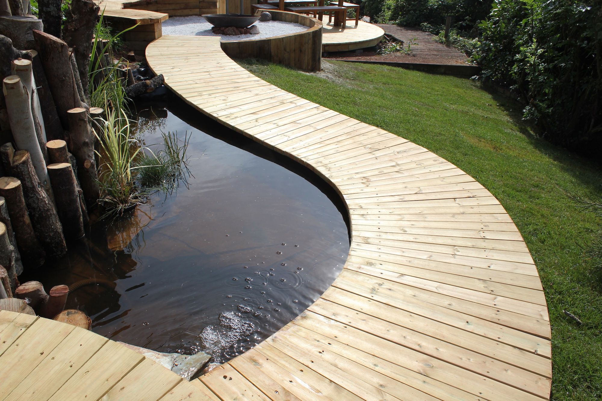 Water Features Hot Tubs Teign Trees
