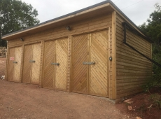 Timber Sheds Storage