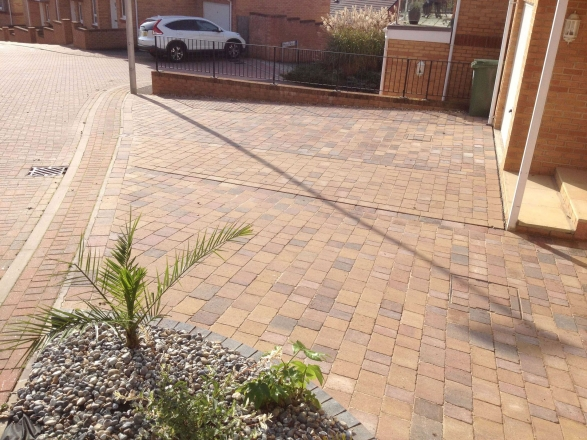 Driveway Makeover After