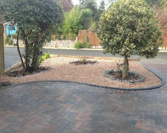 Completed Block Paving Driveway