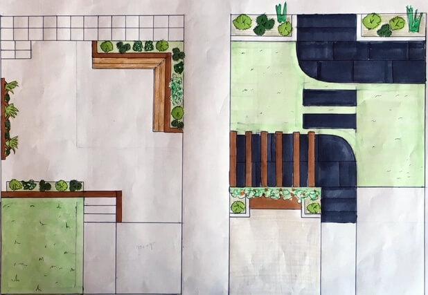 Free Bespoke Garden Landscaping Design Service Teign
