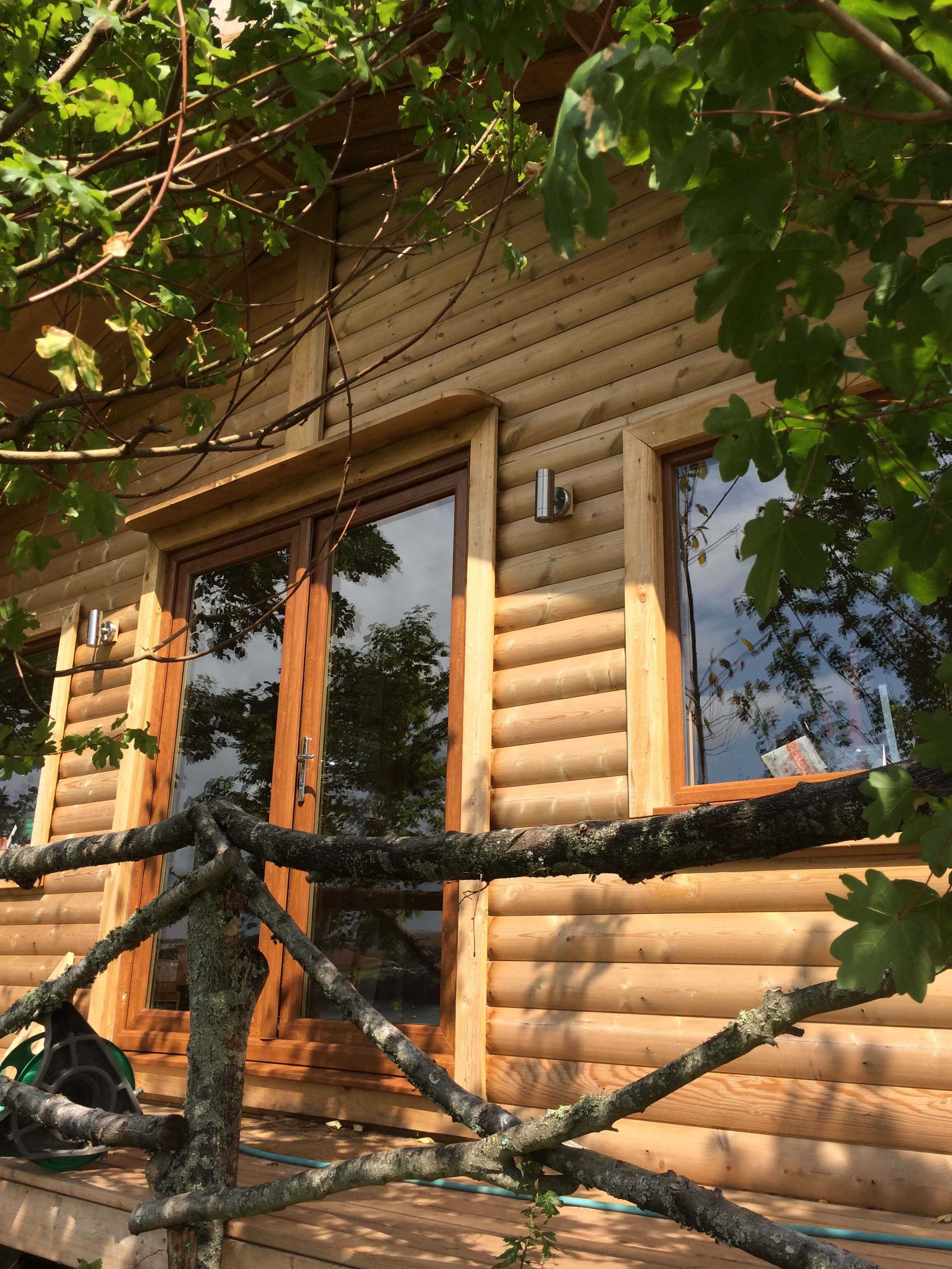 Timber buildings garden offices teign trees for Timber garden office